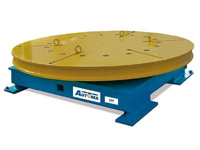 Turnable welding positioners from 500 to 50000 kg - SPP Series