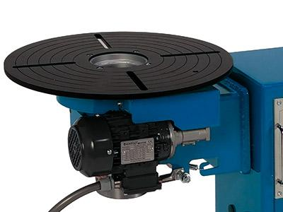 Turnable welding positioners from 30 to 360 kg - SPS Series