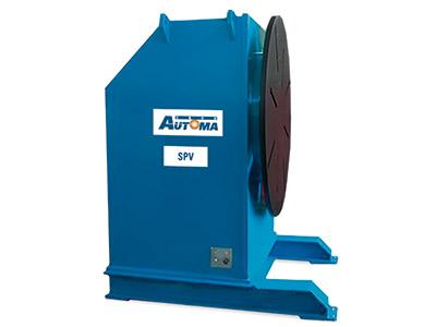 Turnable welding positioners from 500 to 15000 kg - SPV Series